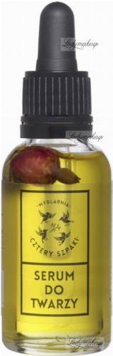 Mydlarnia Cztery Szpaki - Serum do twarzy z kwiatem koniczyny i witaminą C - 30 ml