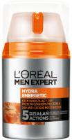 L'Oréal - MEN EXPERT - HYDRA ENERGETIC - 24H ANTI-FATIGUE MOISTURISER - Moisturizing face cream against signs of fatigue - 50 ml