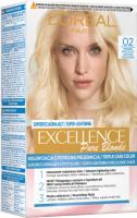 L'Oréal - EXCELLENCE PURE BLONDE - Koloryzacja do włosów z potrójną pielęgnacją - 02 Super Jasny Blond Złocisty
