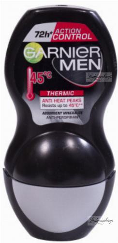 GARNIER - MEN - ACTION CONTROL THERMIC 72H ANTI-PERSPIRANT - Antyperspirant w kulce z termo ochroną dla mężczyzn - 50 ml