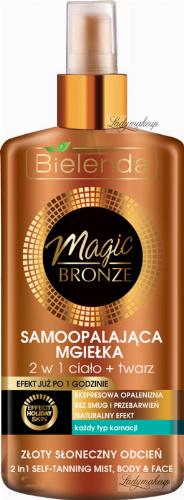Bielenda - MAGIC BRONZE - 2 in 1 - Self-Tanning Mist - Body & Face - Self-tanning mist 2in1 - body + face - 150 ml