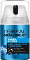 L'Oréal - MEN EXPERT - HYDRA POWER - ANTI-DISCOMFORT MOISTURISER - Anti-discomfort face cream for men - 50 ml
