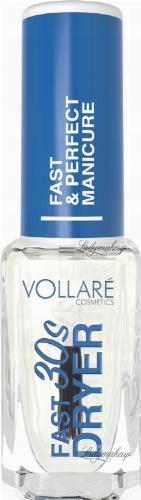 VOLLARÉ - FAST DRYER 30s - Preparat przyspieszający wysychanie lakieru - 10 ml