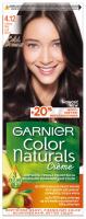 GARNIER - COLOR NATURALS Creme - Long-lasting, nourishing hair color - 4.12 Ice Brown