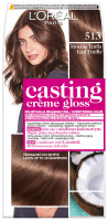 L'Oréal - Casting Créme Gloss - Nourishing color without ammonia - 513 Frosty Truffle