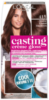L'Oréal - Casting Créme Gloss - Nourishing color without ammonia - 415 Frosty Chestnut