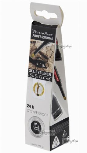 Pierre René - Gel Eyeliner - Wodoodporny eyeliner
