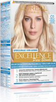 L'Oréal - EXCELLENCE Pure Blonde - 01 Ultra Light Natural Blonde - Coloring with triple care - Ultra Bright, Natural Blonde