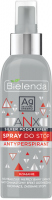 Bielenda - ANX Silver Podo Expert - Spray antiperspirant - 150 ml
