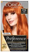 L'Oréal - Préférence - Permanent Haircolor P78 - IBIZA - PURE PAPRIKA INTENSE COPPER - Farba do włosów - Trwała koloryzacja - Bardzo Intensywna Miedź
