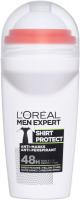 L'Oréal - MEN EXPERT - SHIRT PROTECT ANTI MARKS ANTI-PERSPIRANT - Deodorant / Antiperspirant roll-on for men 48H - 50 ml
