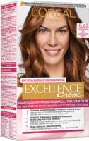 L'Oréal - EXCELLENCE Creme - Koloryzacja do włosów z potrójną pielęgnacją - 6.41 Jasny Bursztynowy Brąz