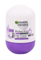 GARNIER - Mineral - Protection 6 Skin + Clothes - Floral Fresh - Antiperspirant roll 6in1 with moringa extract - 50 ml