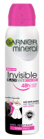 GARNIER - Mineral - Invisible Black White Colors - Floral Touch - Spray antiperspirant - 150 ml