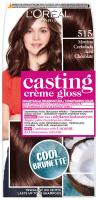 L'Oréal - Casting Créme Gloss - Pielęgnacyjna koloryzacja bez amoniaku - 515 Mroźna Czekolada