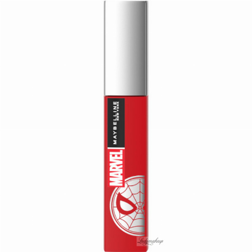 MAYBELLINE x MARVEL SUPER STAY - MATTE INK - Matte liquid lipstick - Limited Edition