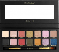 Sigma® - UNTAMED EYESHADOW PALETTE - Palette of 14 eyeshadows with a double brush