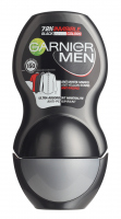 GARNIER - MEN - Invisible Black White Colors 72H Anti-Perspirant - Anti-perspirant roll-on for men - 50 ml