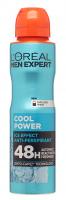 L'Oréal - MEN EXPERT - COOL POWER ICE EFFECT ANTI-PERSPIRANT - Deodorant / Antiperspirant spray for men 48H - 150 ml