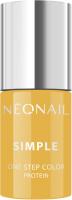 NeoNail - SIMPLE - ONE STEP COLOR - UV GEL POLISH - Lakier hybrydowy UV - 7,2 ml