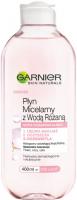 GARNIER - Płyn micelarny z wodą różaną - Skóra pozbawiona blasku - 400 ml
