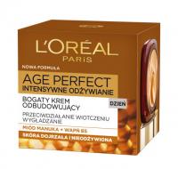 L'Oréal - AGE PERFECT DAY CREAM 60+ Bogaty krem na dzień odbudowujący do skóry dojrzałej i nieodżywionej - 50 ml