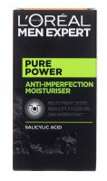 L'Oréal - MEN EXPERT - PURE POWER - ANTI IMPERFECTION MOISTURISER - Moisturizing face gel against imperfections - 50 ml