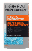 L'Oréal - MEN EXPERT - HYDRA ENERGETIC ICE EFFECT AFTER SHAVE GEL - After shave gel with ice cube effect - 100 ml