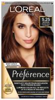 L'Oréal - Préférence - Permanent Haircolor 5.25 - ANTIGUA - ICY BROWN - Farba do włosów - Trwała koloryzacja - Mroźny Brąz
