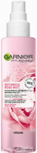 GARNIER - SKIN NATURALS - BOTANICAL ROSE MIST - Kojąca mgiełka do twarzy - 150 ml
