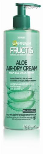 GARNIER - FRUCTIS - ALOE AIR DRY CREAM - Krem do włosów odwodnionych, ułatwiający stylizację - 400 ml