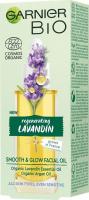 GARNIER - BIO - SMOOTH & GLOW FACIAL OIL - Smoothing face oil - Lavender - 30 ml