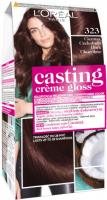 L'Oréal - Casting Créme Gloss - Pielęgnacyjna koloryzacja bez amoniaku - 323 Ciemna Czekolada