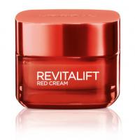 L'Oréal - REVITALIFT Energising Red Cream - Energetyzujący, czerwony krem do twarzy - Dzień - 50 ml - 40+