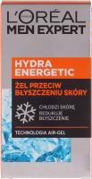 L'Oréal - MEN EXPERT - HYDRA ENERGETIC ANTI-SHINE QUENCHING GEL - Cooling anti-shine gel - 50 ml