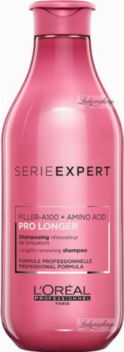 L'Oréal Professionnel - SERIE EXPERT - PRO LONGER Filler-A100 + Amino Acid Shampoo - Szampon poprawiający wygląd włosów na długościach - 300 ml