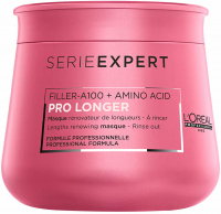 L'Oréal Professionnel - SERIE EXPERT - PRO LONGER Filler-A100 + Amino Acid Masque - Mask improving the appearance of hair on lengths and ends - 250 ml