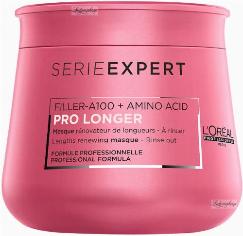 L'Oréal Professionnel - SERIE EXPERT - PRO LONGER Filler-A100 + Amino Acid Masque - Maska poprawiająca wygląd włosów na długościach i końcach - 250 ml