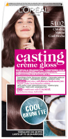 L'Oréal - Casting Creme Gloss - Caring color without ammonia - 5102 Cool Mocha