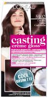 L'Oréal - Casting Creme Gloss - Pielęgnacyjna koloryzacja bez amoniaku - 5102 Chłodna Mokka