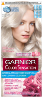 GARNIER - COLOR SENSATION - Super rozjaśniający krem koloryzujący do włosów - S11 Przydymiony Ultrajasny Blond