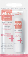 Mixa - Sensitive Skin Expert - Rich Lip Balm Nourishing - Nourishing, rich lip balm - 4.7 ml