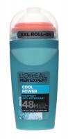 L'Oréal - MEN EXPERT - COOL POWERICE EFFECT ANTI-PERSPIRANT ROLL ON - Dezodorant / Antyperspirant w kulce dla mężczyzn 48H - 50 ml