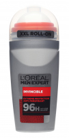 L'Oréal - MEN EXPERT - INVINCIBLE DEODORANT 96H ROLL ON - Deodorant / Antiperspirant roll-on for men 96H - 50 ml