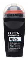 L'Oréal - MEN EXPERT - CARBON PROTECT TOTAL PROTECTION 48H ANTI-PERSPIRANT - Antiperspirant roll-on for men with the addition of carbon - 50 ml