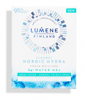 LUMENE - FINLAND - LAHDE - NORDIC HYDRA FRESH MOISTURE 24H WATER GEL - Beztłuszczowy żel intensywnie nawadniający do twarzy - 50 ml