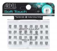 ARDELL - Soft Touch Trios - Potrójne kępki rzęs - MEDIUM BLACK - MEDIUM BLACK