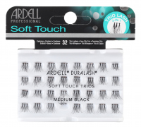 ARDELL - Soft Touch Trios - Triple eyelash clusters - MEDIUM BLACK - MEDIUM BLACK