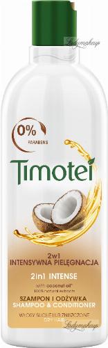 Timotei - Intense 2in1 Shampoo & Conditioner - Szampon z odżywką 2w1 do włosów suchych - Olejek kokosowy - 400 ml