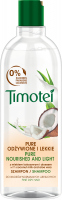 Timotei - Pure Nourished and Light Shampoo - Normal or dry hair shampoo - Coconut milk and aloe - 400 ml